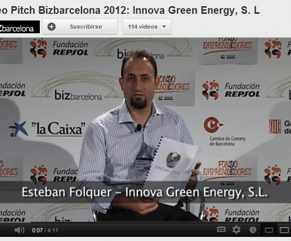 Video Pitch en Biz Barcelona de Innova Green Energy